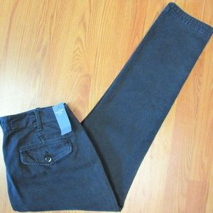 30x30- NEW! ABERCROMBIE & FITCH SLIM FIT MENS NAVY